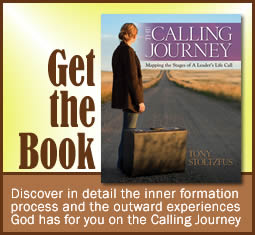The Calling Journey by Tony Stoltzfus - book